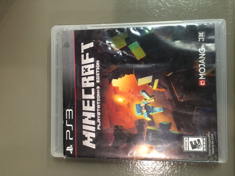 SONY Sony PlayStation 3 Game MINECRAFT - PS3