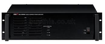 INTER M Amplifier pa system  PA-9324