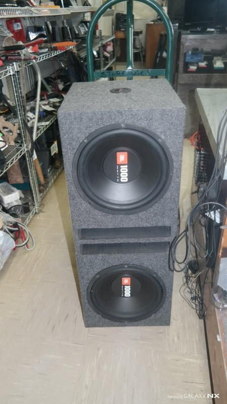 "JBL Car Speakers/Speaker System CAR SPEAKERS 12"""