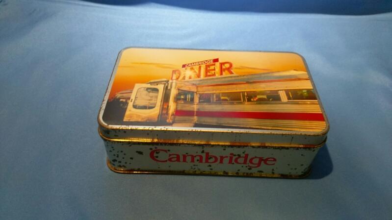 ZIPPO 1997 CAMBRIDGE SET OF 2