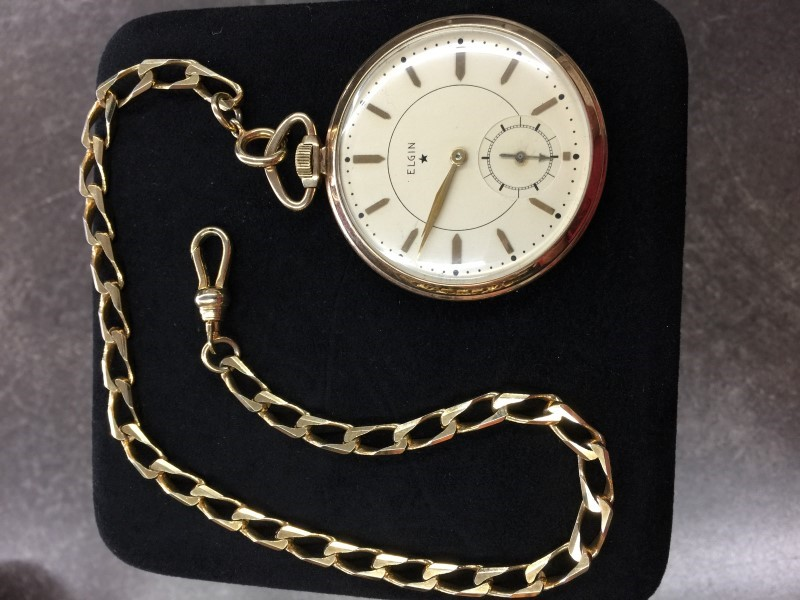ELGIN Pocket Watch 17 JEWEL POCKET WATCH