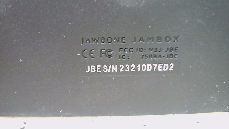 Jawbone Speaker Jambox