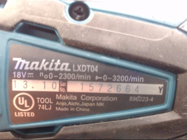 MAKITA Cordless impact /LXDT04