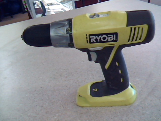 RYOBI 18V Cordless Drill P271 TOOL ONLY
