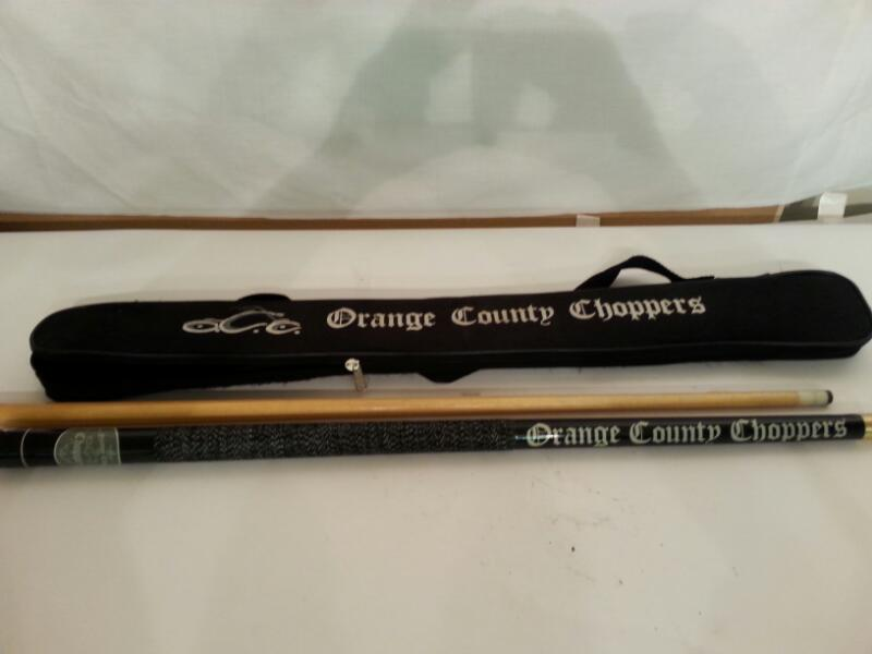 Orange County Choppers OCC Pool Cue - 20 Oz - w/ Matching Case! [