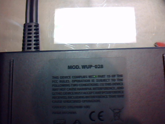 NINTENDO WII-U WUP-028 4 port controller hub