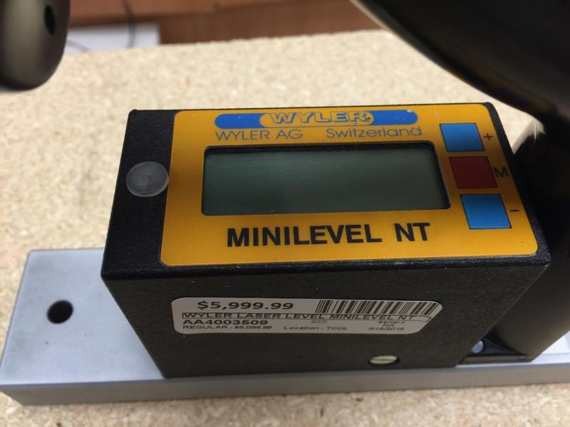 WYLER Laser Level MINILEVEL NT
