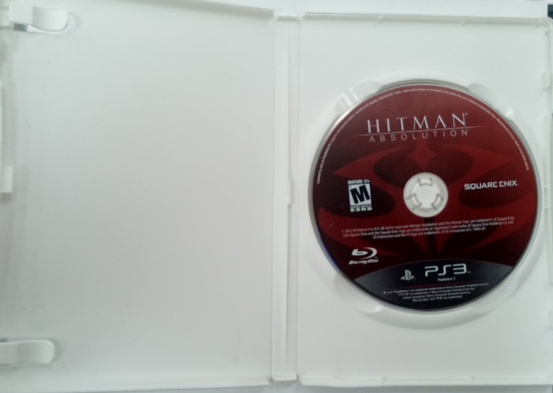 SONY PLAYSTATION 3 GAME PS3 HITMAN ABSOLUTION
