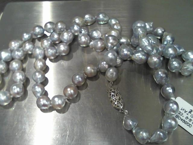 Gold Chain 14K White Gold 80.8g