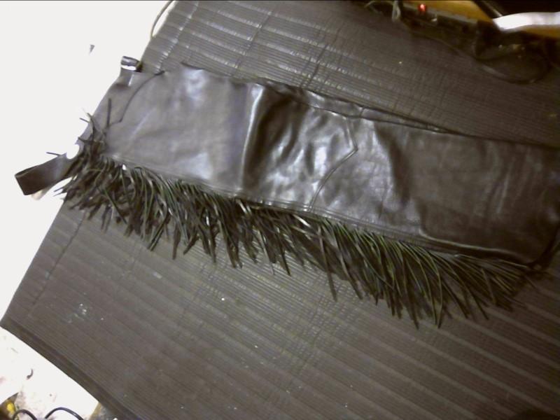 Pants LEATHER CHAPS-CUSTOM