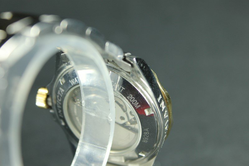 Invicta 8928A Men's Two Tone Automatic Coin Edge Bezel Watch
