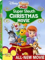 DISNEY DVD SUPER SLEUTH CHRISTMAS MOVIE