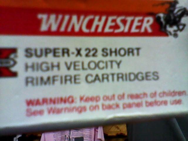 WINCHESTER Ammunition SUPER-X 22 SHORT 50 CARTRIDGES