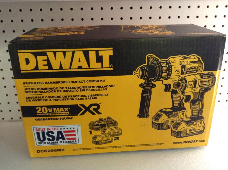 DEWALT Combination Tool Set DCK296M2