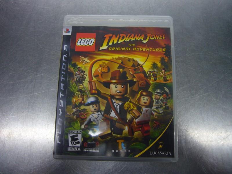 SONY PlayStation 3 Game LEGO INDIANA JONES THE ORIGINAL ADVENTURES