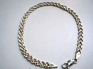 Gold Rope Bracelet 14K Yellow Gold 1.9g