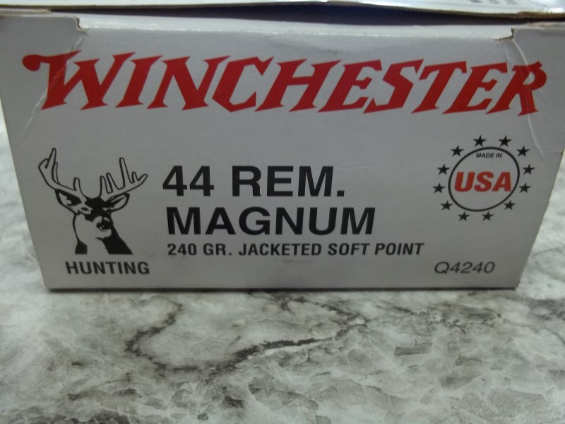 WINCHESTER 44 REM. MAGNUM