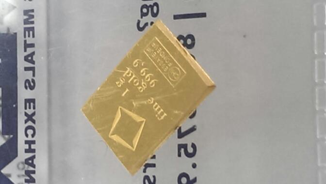 ESSAYEUR FONDUR Gold Bullion 1 GRAM GOLD