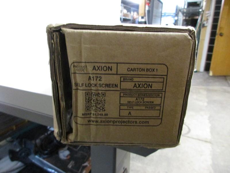 AXION A172 DIGITAL PROJECTOR SELF LOCK SCREEN