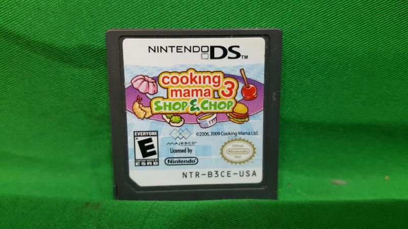 Cooking Mama 3: Shop & Chop (Nintendo DS, 2009)