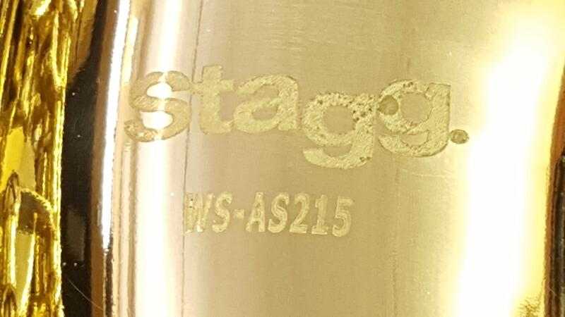 STAGG SAXOPHONE WS-AS 215 ALTO w/Hard Case