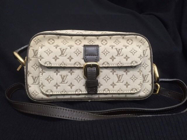 LOUIS VUITTON Handbag JULIETTE MM SHOULDER BAG MONOGRAM MINI LIN