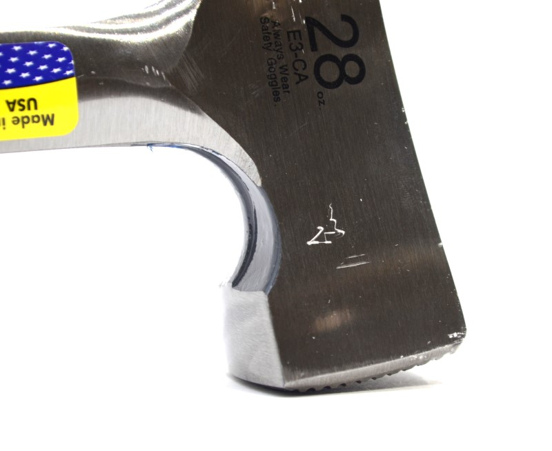 Estwing E3-CA 28 oz. Milled-Face Shingler's Hammer *Made in USA*