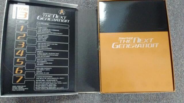 STAR TREK: THE NEXT GENERATION (TGN S3), COMPLETE 7-DISC SET