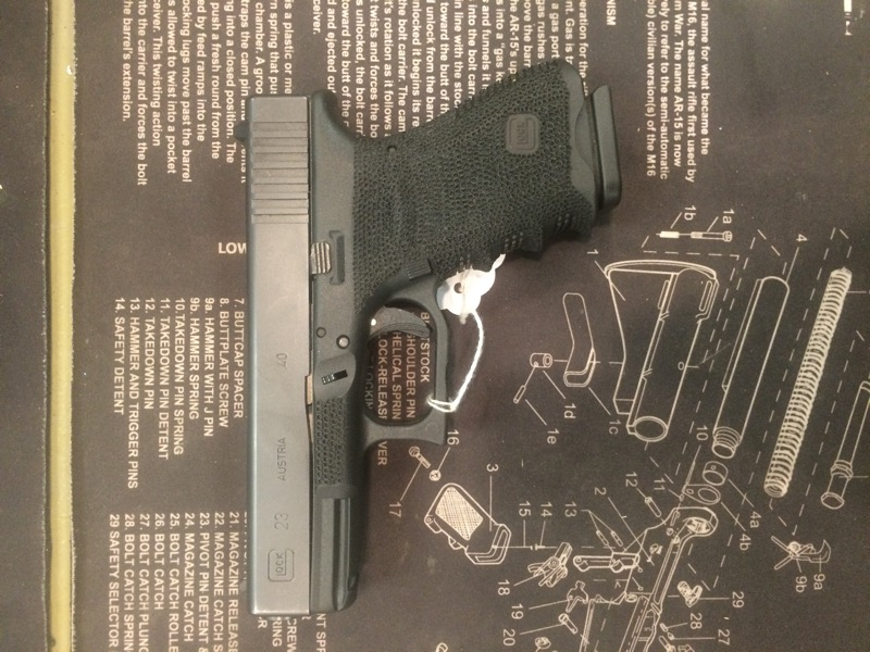 GLOCK Pistol 23 GEN 3