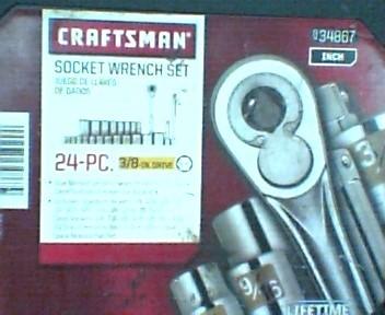 CRAFTSMAN Combination Tool Set 934867