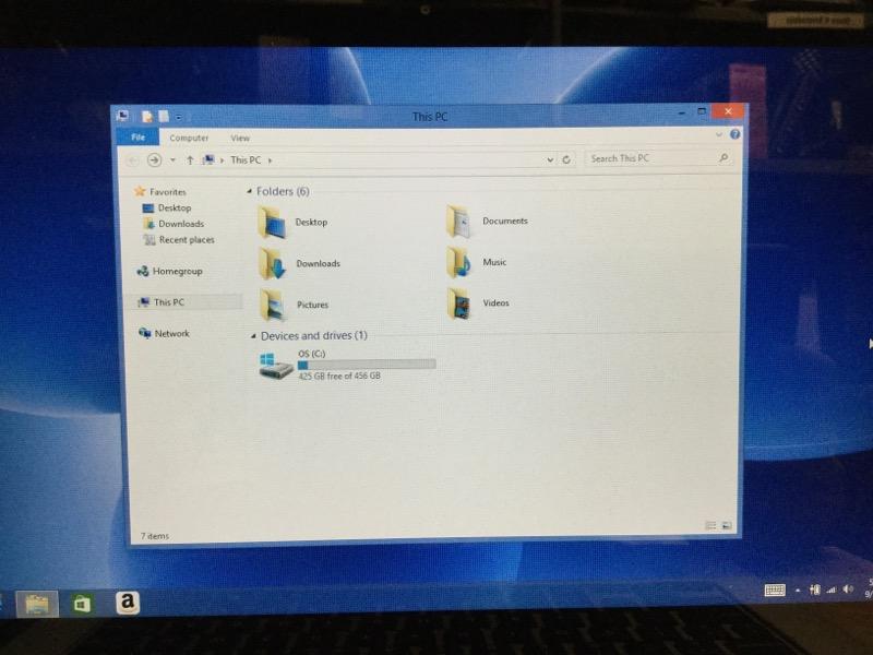 Dell Inspiron 13-7347, Win8,500GB HD,4GB Ram, Intel Core i3, 1.70GHz