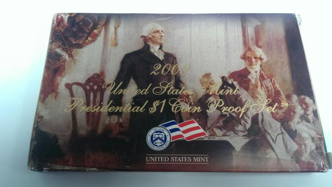 UNITED STATES 2009 PRESIDENTIAL $1 COIN PROOF SET