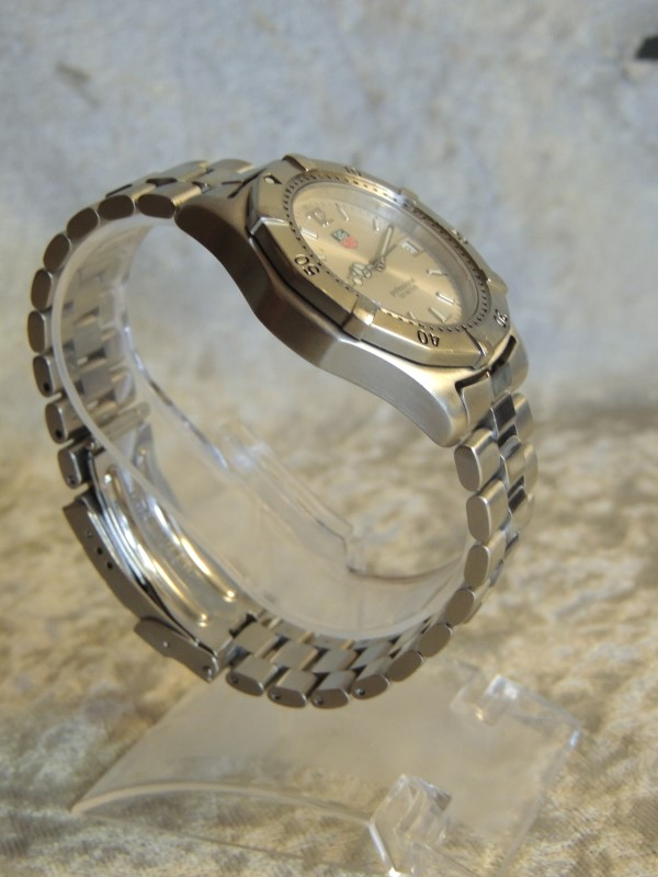 Tag Heuer 2000 Professional WK1112-1 Stainless Steel