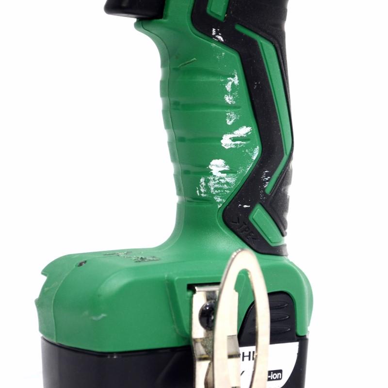 Hitachi KC10DFL2 12V LiOn Drill & Driver Combo Tool Kit w/Charger>