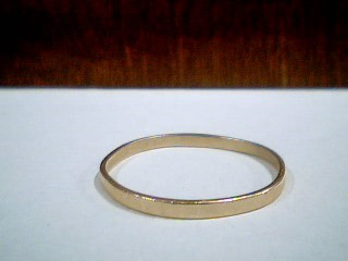 Gent's Gold Wedding Band 14K Yellow Gold 1.6g Size:13.8