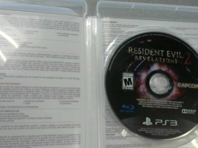 SONY Sony PlayStation 4 Game RESIDENT EVIL 2 REVELATIONS - PS4
