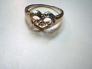 Lady's Gold Ring 10K Yellow Gold 2.1g Size:6