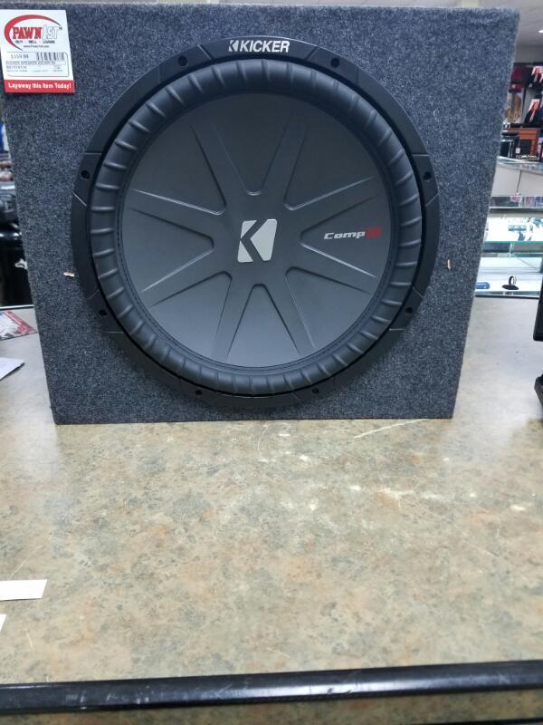 KICKER Speakers/Subwoofer 40CWR154