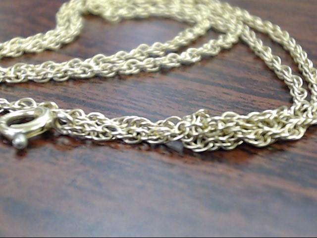 "16"" Gold Fine Chain 14K Yellow Gold 2.2g"