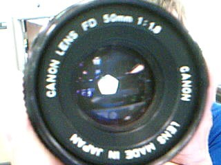 CANON Lens/Filter 50 MM 1:1.8