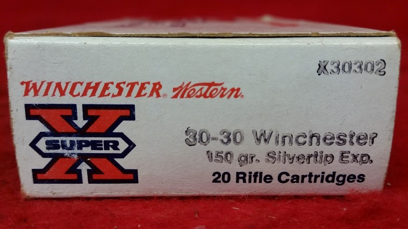 Winchester 30-30 150gr Silver Tip - 20 Rounds - X30302