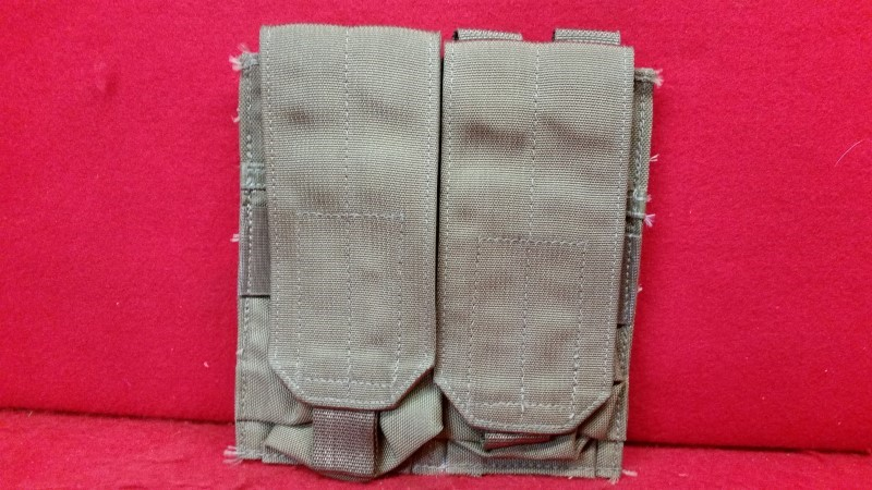 USMC Coyote Brown Double Mag Pouch