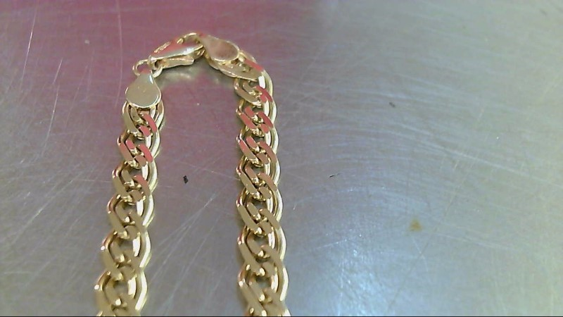 "20"" Gold Fashion Chain 18K Yellow Gold 18.96g"