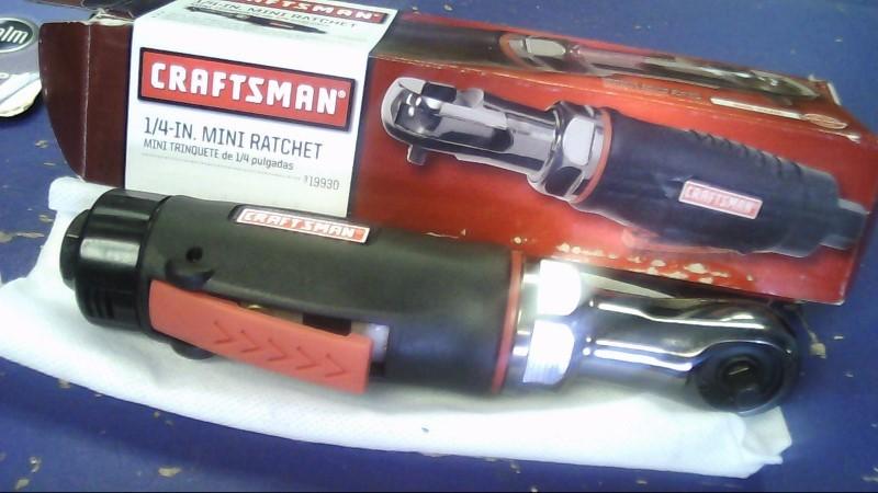 CRAFTSMAN 1/4 INCH MINI RATCHET MODEL 19930