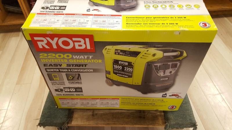 RYOBI Generator RYI2200A