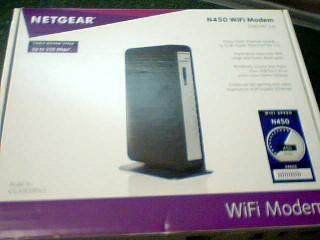 NETGEAR Modem/Router N450 WIFI MODEM