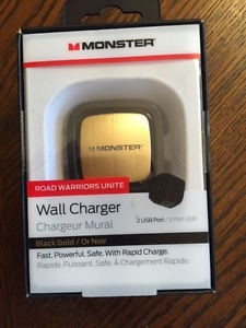 MONSTER Cell Phone Accessory ROAD WARRIORS SPEED WALL CHARGER