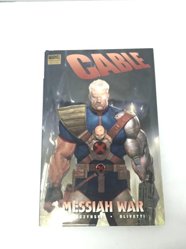 MARVEL COMICS PRESENTS CABLE MESSIAH WAR HARDBACK BOOK