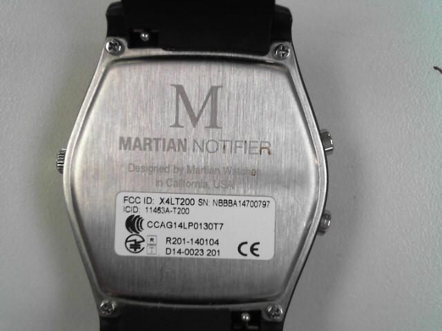 MARTIAN NOTIFIER T200