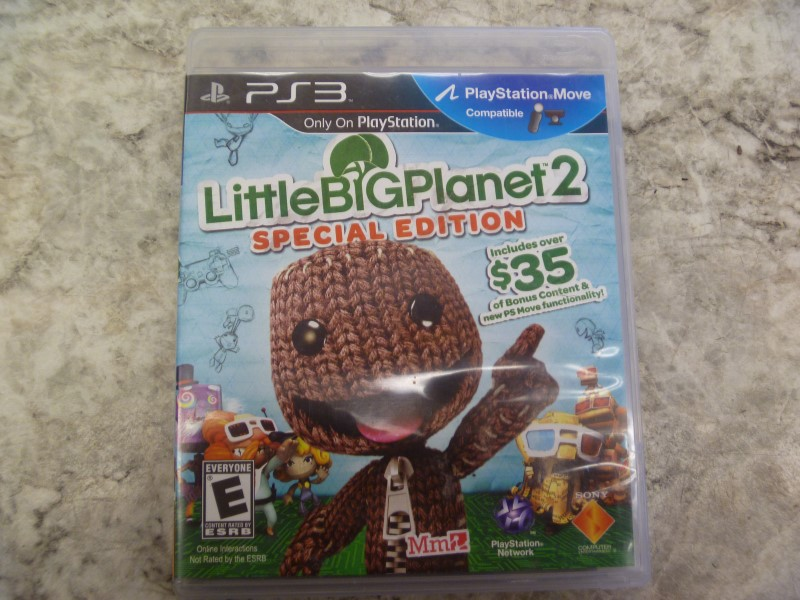 LITTLE BIG PLANET 2 SPECIAL EDITION FOR PLAYSTATION 3
